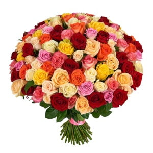 send mixed roses Ukraine 3
